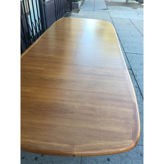 1960s Diethelm Scanstyle Danish Modern Butterfly Dining Table in Teak For Sale - Image 5 of 13