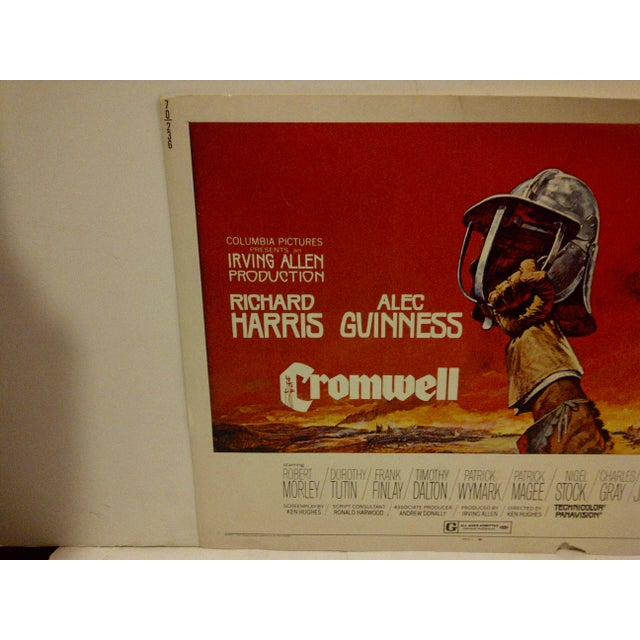 """Cromwell"" Vintage Movie Poster 1970 For Sale - Image 5 of 6"