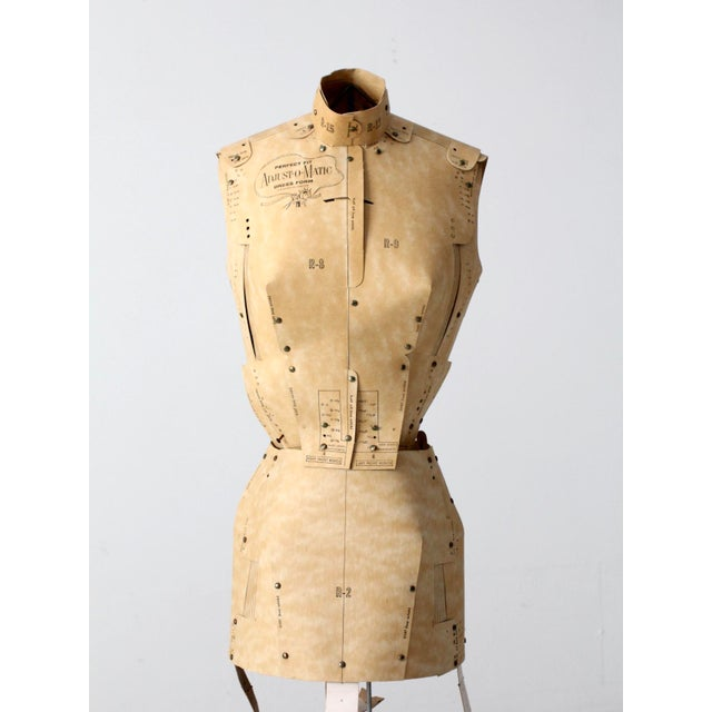 Mid-Century Adjust-O-Matic Dress Form For Sale - Image 9 of 12