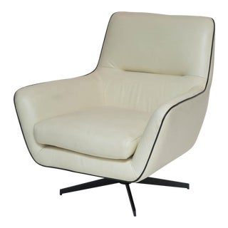 Leather Swivel Chair For Sale