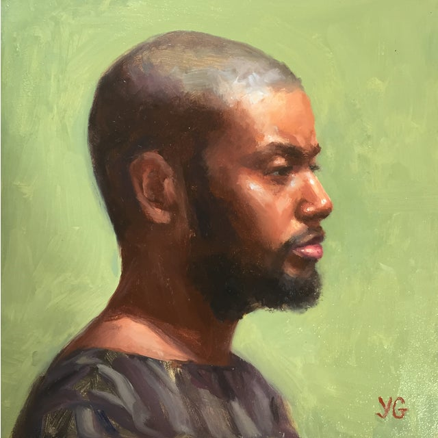 'Portrait of African American Man' Painting - Image 1 of 3