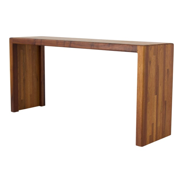Lou Hodges for California Design Group Solid Wood Console Table For Sale