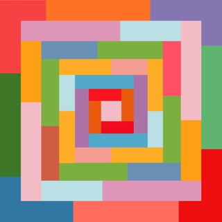 """Honeymoon - Part 1"" Contemporary Geometric Print by Sassoon Kosian For Sale"