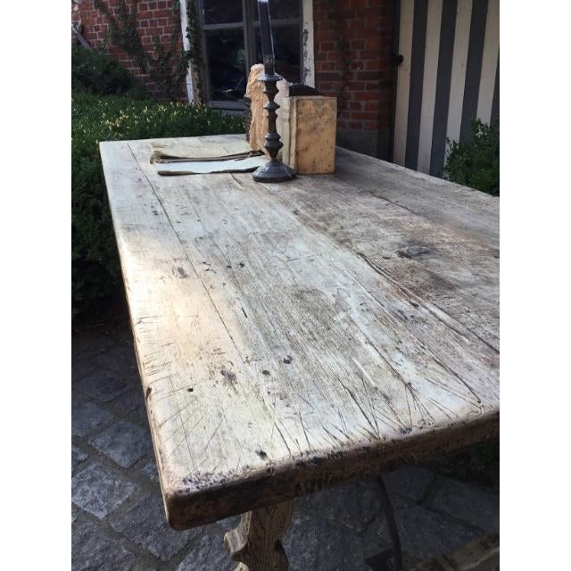 19th C Spanish Fratina Table For Sale - Image 4 of 8