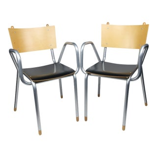 Pair of Classe Prima B Armchairs by Maurizio Peregalli for Zeus For Sale