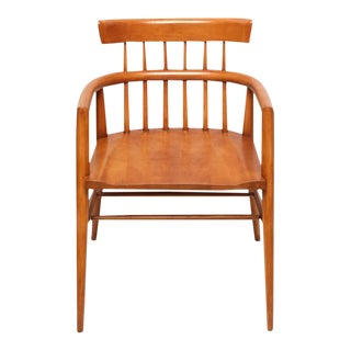 Pair of Paul McCobb Armed Wood Dining Chairs, 1960s For Sale