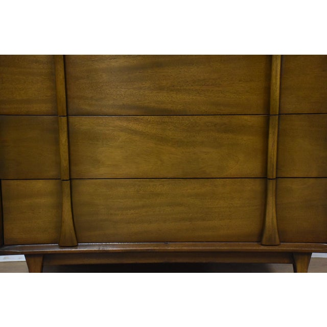Albe Furniture Mid-Century Modern Tall Dresser For Sale In Boston - Image 6 of 8