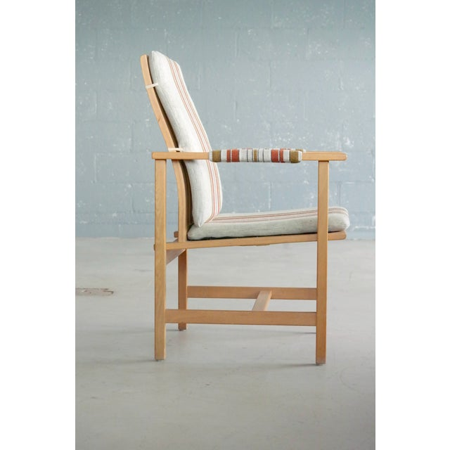 1960s Børge Mogensen Model 2257 1960s Oak Lounge Chair for Fredericia Stolefabrik For Sale - Image 5 of 12