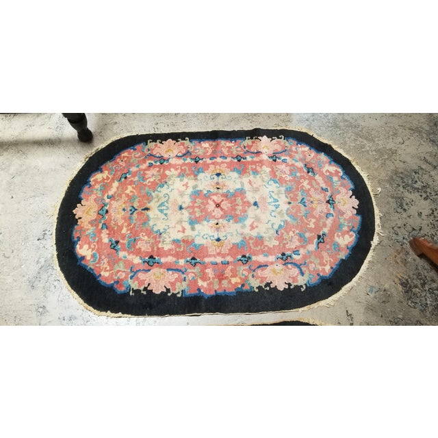 PRESENTING a BEAUTIFUL and RARE Medium sized Helen Fette Oriental Rug from the Art Deco Era. Beautifully detailed and HIGH...