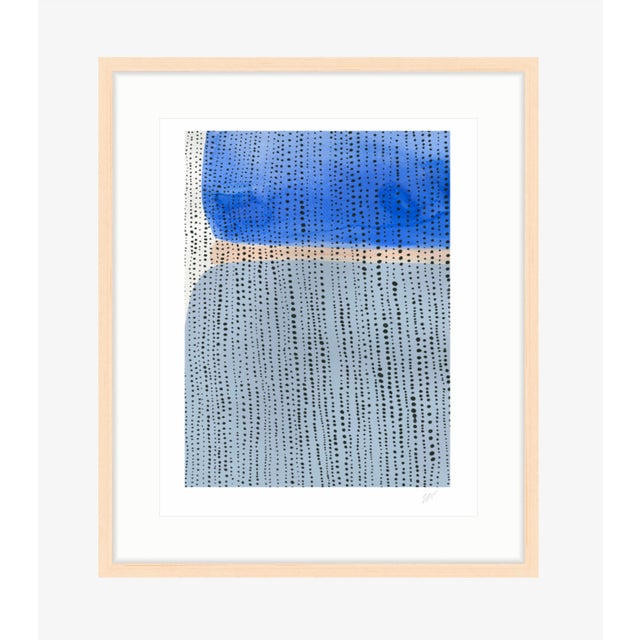 "Shorelines V Watercolor Print - Perspective B - 8"" x 10"" - Image 3 of 3"