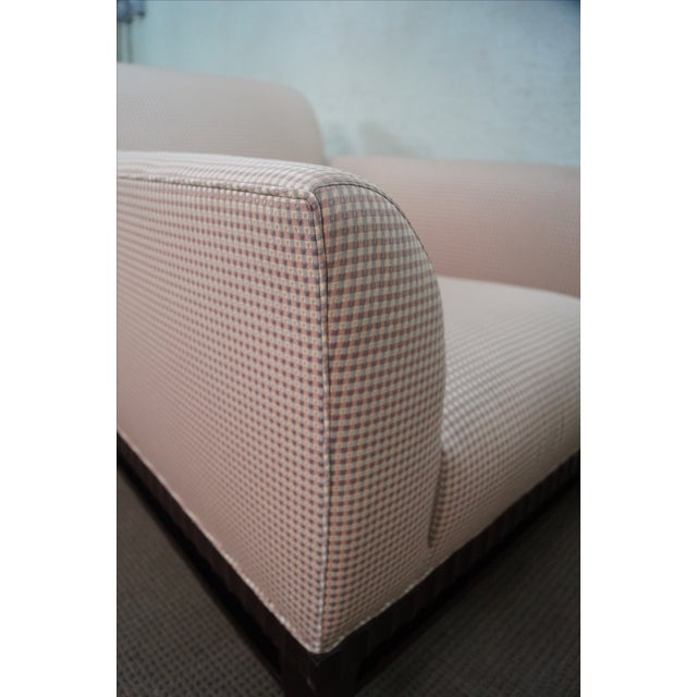 Fabric Baker Barbara Barry Collection Lounge Chair For Sale - Image 7 of 11