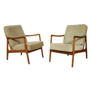 Pair of Scandinavian Mid Century Modern Armchairs by France & Daverkosen Design