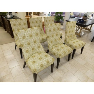 Larry Laslo Directional Dining Side Chairs- Set of 6 Preview