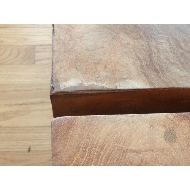 Jayson Home Milo Teak End Tables - a Pair - Image 3 of 6
