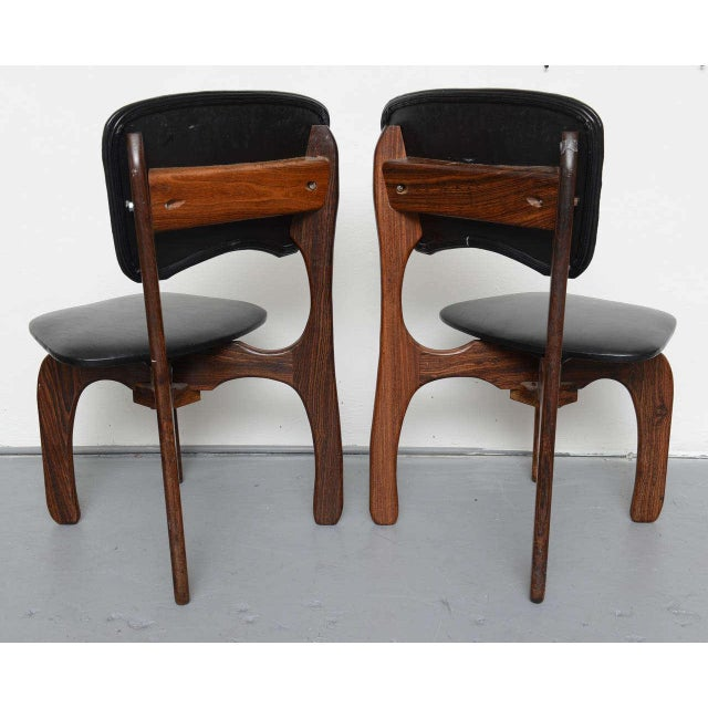 1970s Rosewood Chairs by Don Shoemaker, Mexico For Sale - Image 9 of 9