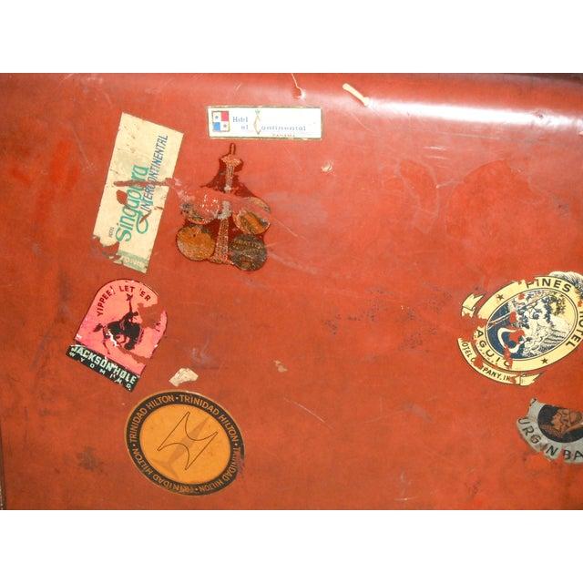 Vintage Samsonite Leather Suitcase - Image 7 of 8