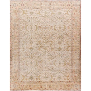 New Sultanabad Style Rug 12' x 15'3 For Sale