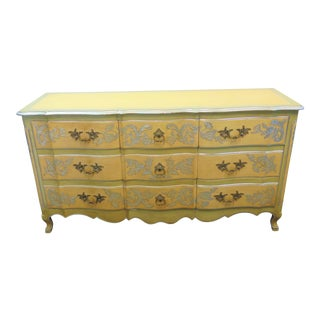 John Widdicomb French Decorated Dresser For Sale