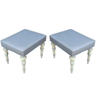 Spencer & Company Regency Ottomans or Stools, Circa 1960s For Sale