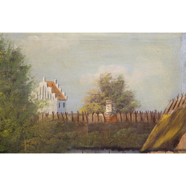 Late 19th Century Swedish Landscape Oil on Canvas, C. 1900 For Sale - Image 5 of 10