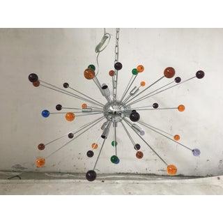 Murano Multicolor Glass Triedo Sputnik Chandelier Preview