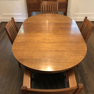 1980s Mission Stickley Dining Set - 5 Pieces Preview