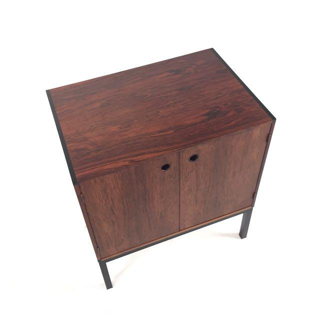 Danish Modern Vintage Danish Rosewood Cabinet For Sale - Image 3 of 5