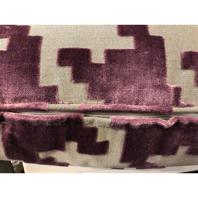 """21"""" Square Robert Allen Pillow For Sale In Chicago - Image 6 of 8"""