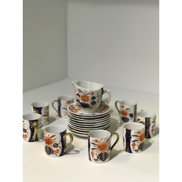 1950s Espresso Set + Creamer For Sale - Image 5 of 13