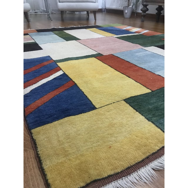 GENERAL INFORMATION: - FREE WORLDWIDE SHIPPING. - This rug (kilim) is handwoven and made of 100% Natural materials. - Eco...