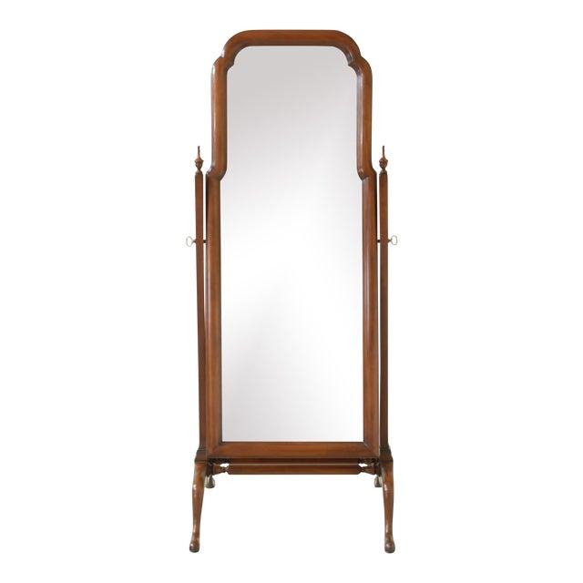 Henkel Harris Cherry Cheval Dressing Mirror For Sale