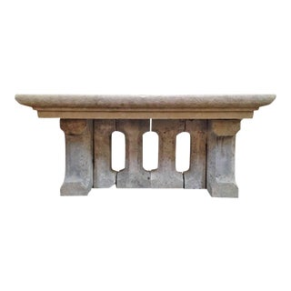 18th Century Gothic Stone Table For Sale