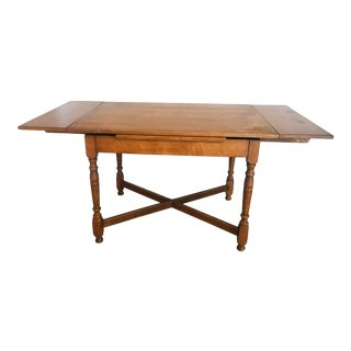 Antique Extended Dining Table For Sale