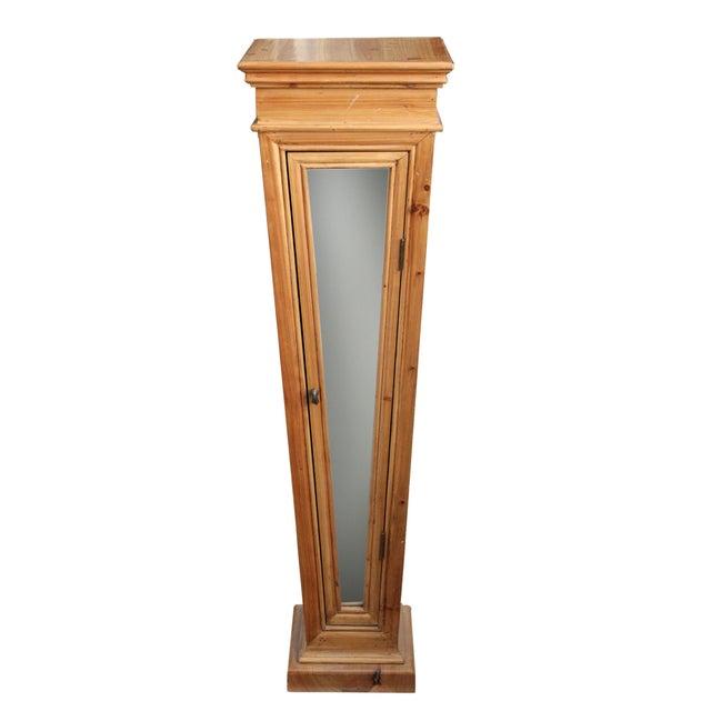 Wooden Mirrored Storage Pedestal - Image 2 of 8