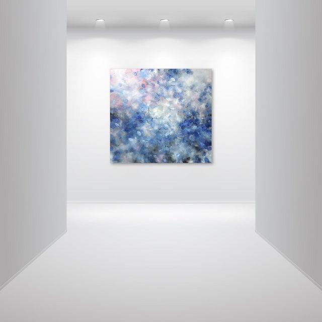 "Blue Original Artwork by Frederic Paul, ""El Nido Reef"" For Sale - Image 8 of 11"