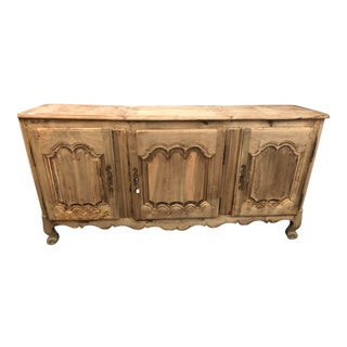19th Century French Louis XV Walnut Enfilade For Sale
