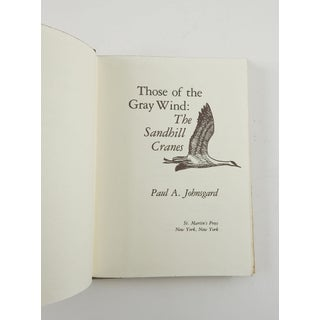 """""""Those of the Gray Wind: The Sandhill Cranes"""" Book Preview"""