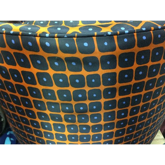 Milo Baughman Style Swivel Chair - Image 4 of 4
