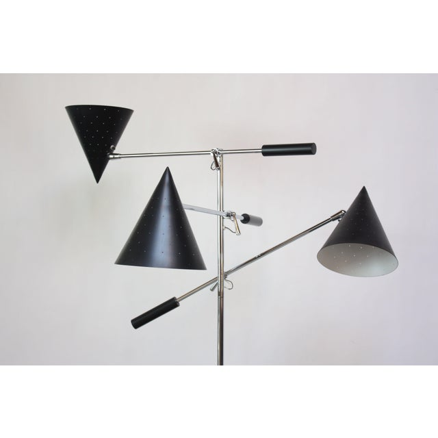 1950s Triennale Style Floor Lamp by Lightolier For Sale - Image 5 of 12