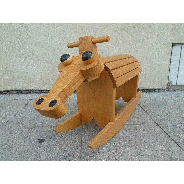 Stylized Rocking Horse - Image 2 of 5