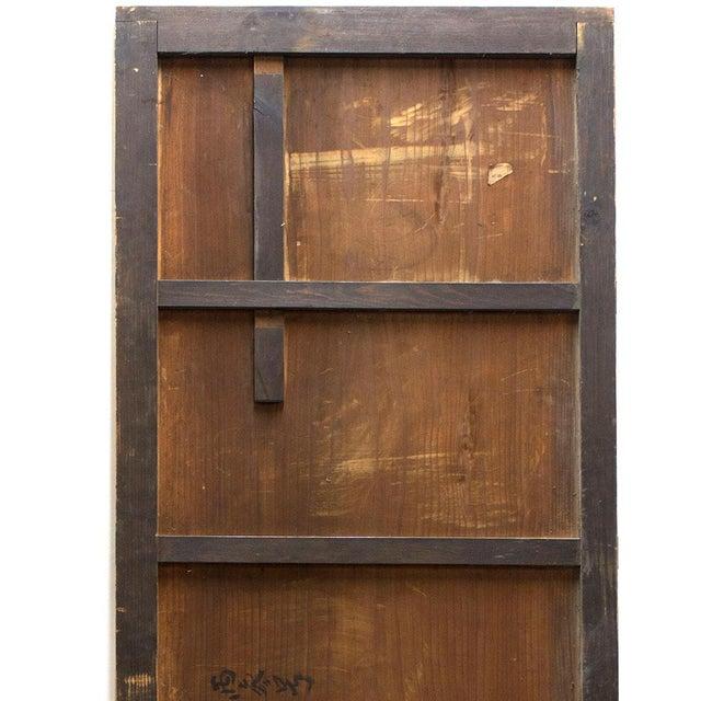 Japanese Itado Cedar Wooden Door For Sale In New York - Image 6 of 9