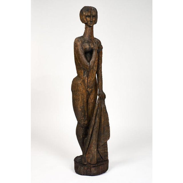 Life Size Statue of Annabel Buffet For Sale - Image 4 of 11