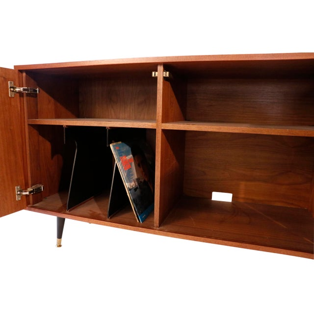 1970s 1970s Mid-Century Curated Danish Teak Credenza For Sale - Image 5 of 8