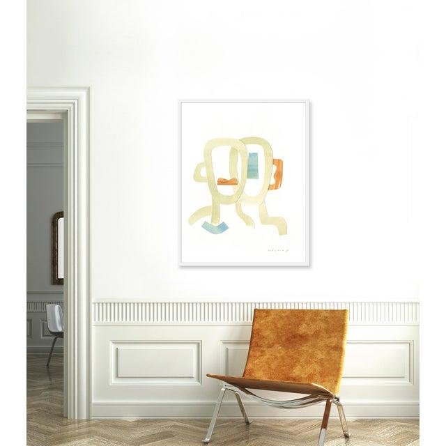 Giclée on textured fine art paper with white frame. Unframed print dimensions: 31.75x39.75. Morgan Elvington Walker...
