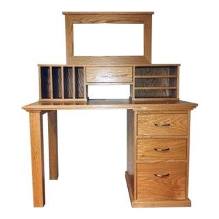 Traditional Handmade Writing Desk For Sale