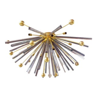 Autunno Sputnik Chandelier Flush Mount by Fabio Ltd For Sale