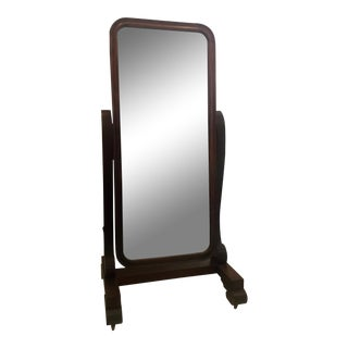 Empire Style Cheval Mirror For Sale
