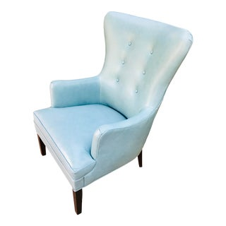 Mitchell Gold Ashby Wing Chair For Sale