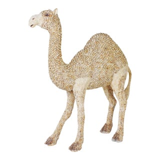 Almost Lifesize Shell Camel Attributed to Antony Redmile For Sale