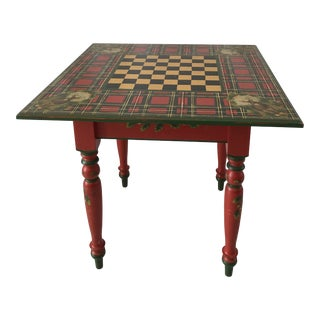 Country Style Jane Keltner Brighton Pavilion Games Table For Sale